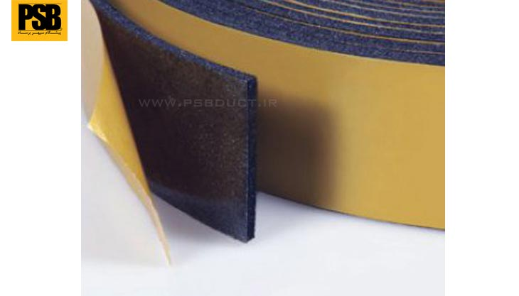 Rubber foam tape